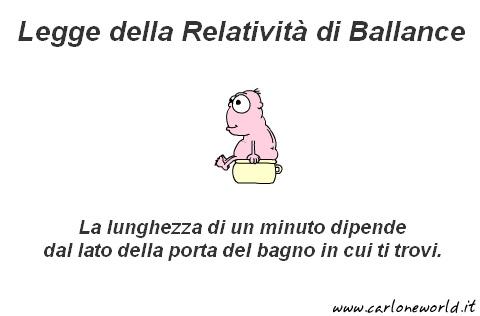 legge della relativita