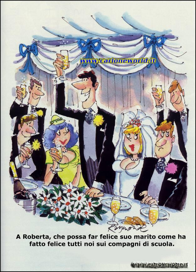 Al pranzo di matrimonio un invitato alza il calice con dedica:
