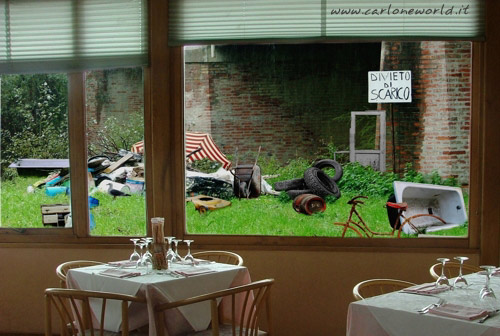 ristorante vista panoramica