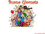 Speciale cartoline buona giornata: cartolina auguri di buona giornata con abbraccio degli amici