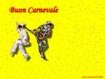 Cartolina di Carnevale: buon Carnevale!