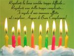 Cartolina Auguri di Buon Compleanno