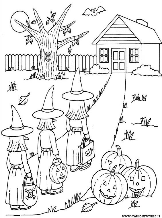 disegno di halloween da colorare 03