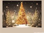 Cartolina albero di Natale