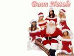 Cartolina sexy Natale