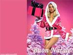 Cartolina di Natale sexy