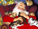 Cartolina Babbo Natale