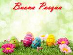 Cartolina Auguri buona Pasqua