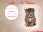 Cartolina San Valentino: buon San Valentino