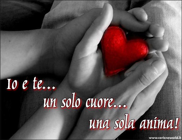 Immagine d'Amore: Io e Te.. un solo cuore.. una sola anima