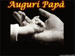 Cartolina di Auguri Festa del Papa'