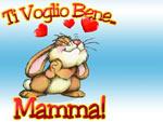 Cartolina Auguri Mamma: ti voglio bene Mamma!